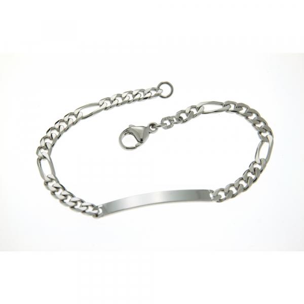 ID-Armband Figaro 21